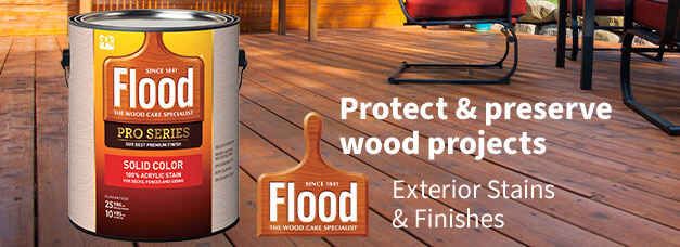 Flood Exterior Stains & Finishes