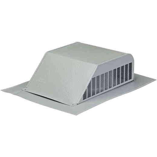 Airhawk 50 In. Gray Aluminum Slant Back Roof Vent
