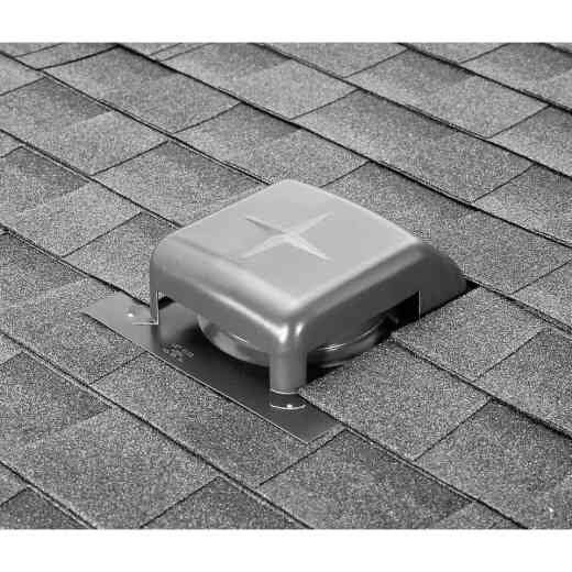 Airhawk 40 In. Mill Galvanized Steel Slant Back Roof Vent
