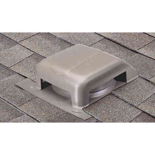 Airhawk 40 In. Weatherwood Galvanized Steel Slant Back Roof Vent