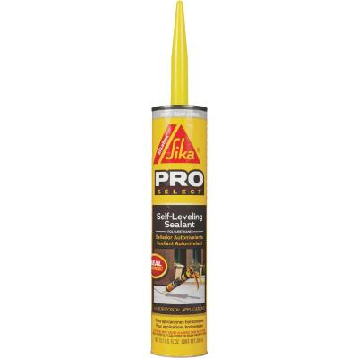 Sikaflex Self-Leveling Sealant 10.1 Oz Gray Concrete Sealant