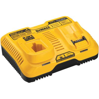 DeWalt 7.2 Volt to 20 Volt MAX Nickel-Cadmium/Nickel-Metal Hydride/Lithium-Ion Dual Port Fast Battery Charger