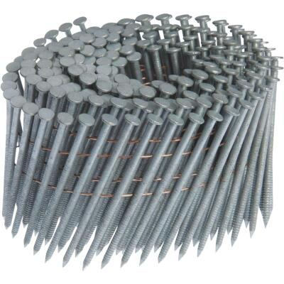 Grip-Rite 15 Degree Wire Weld Hot-Dipped Galvanized Coil Siding Nail, 2 In. x .092 In. (1200 Ct.)
