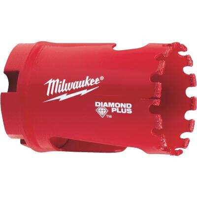 Milwaukee Diamond Plus 1-3/8 In. Diamond Grit Hole Saw