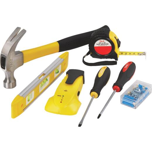 Do it Home Tool Set with Hanging Hardware (7-Piece)