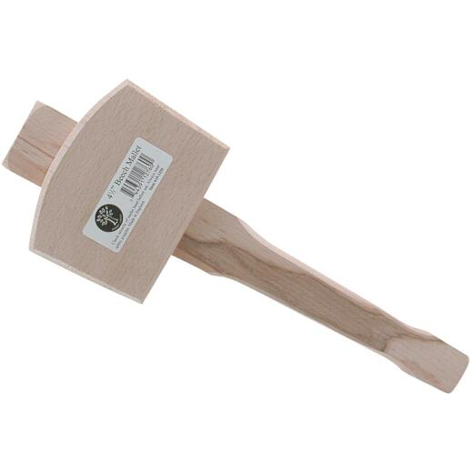 Robert Larson Large 15 Oz. Carpenter Mallet with Beechwood Handle