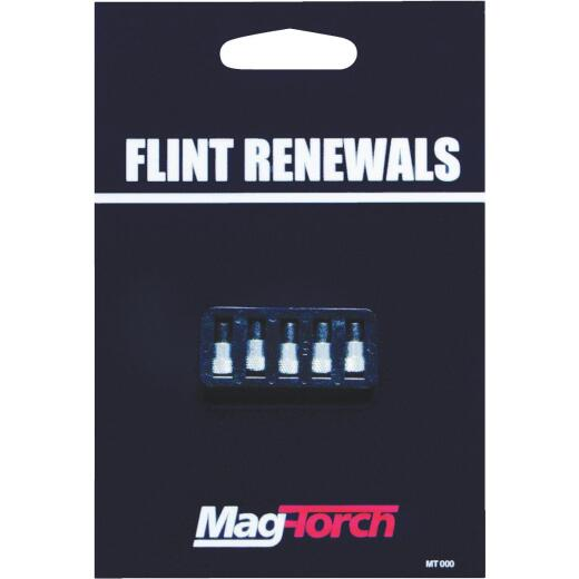 Mag-Torch Replacement Flints for Single Flint Striker (5-Pack)