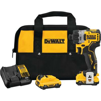 DeWalt XTREME 12V MAX Lithium-Ion 1/4 In. Brushless Cordless Screwdriver Kit