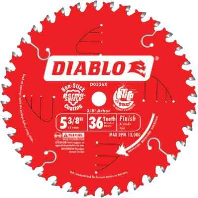 Diablo 5-3/8 In. 36-Tooth Finish Circular Saw Blade