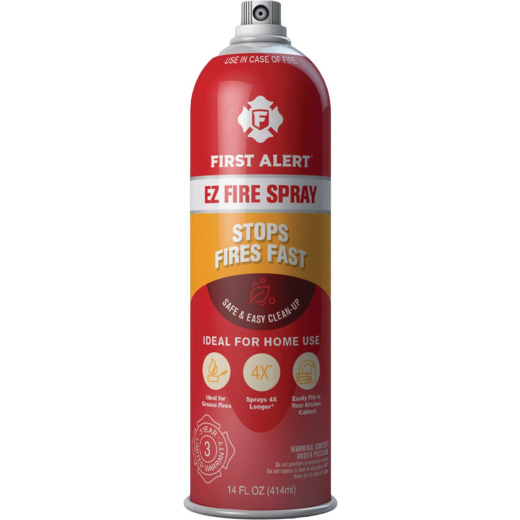 First Alert EZ Fire Extinguishing Spray, 14 Oz.