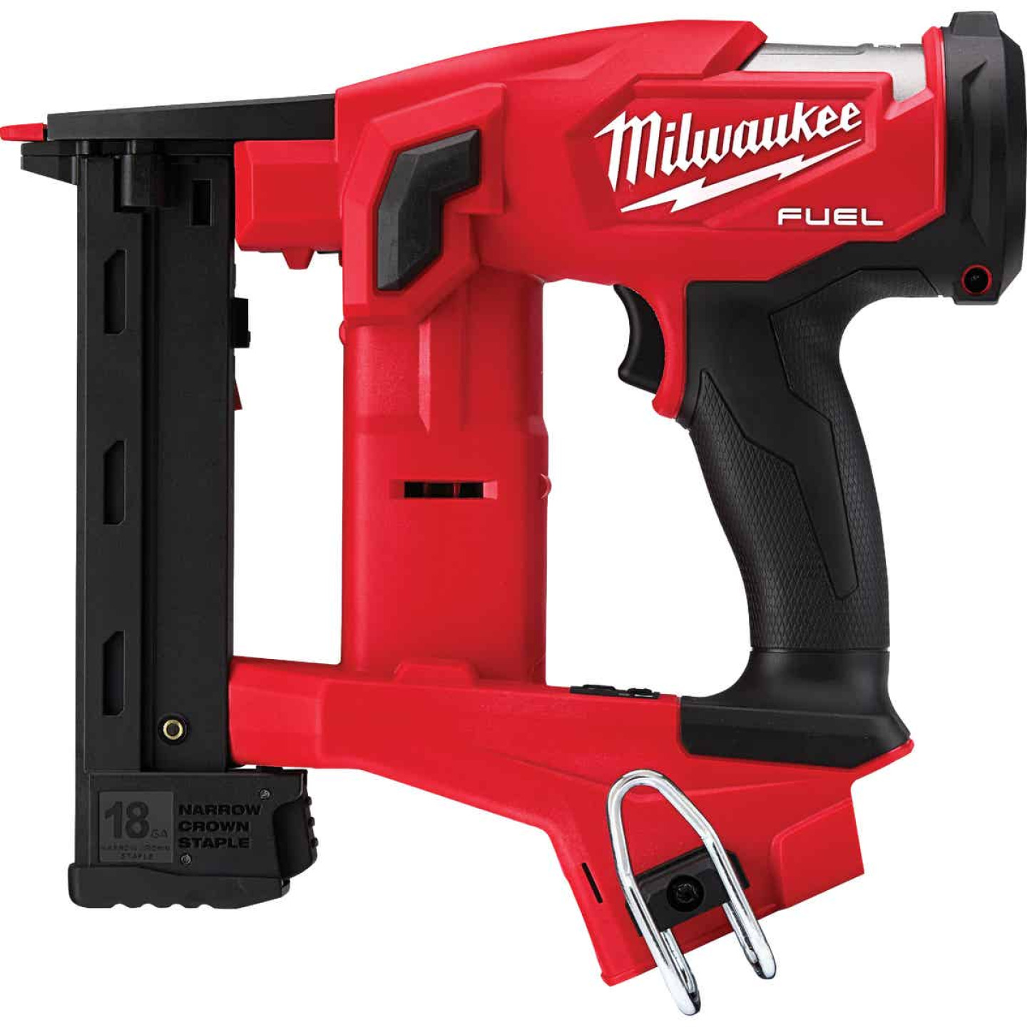 Milwaukee M18 FUEL 18 Volt Lithium-Ion 1/4 In. Narrow Crown Brushless Cordless Finish Stapler (Bare Tool) Image 1