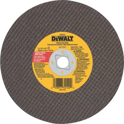 DeWalt HP Type 1, 8 In. Cut-Off Wheel