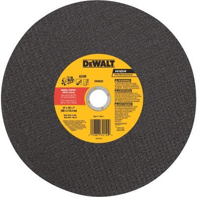 DeWalt HP Type 1, 14 In. Cut-Off Wheel