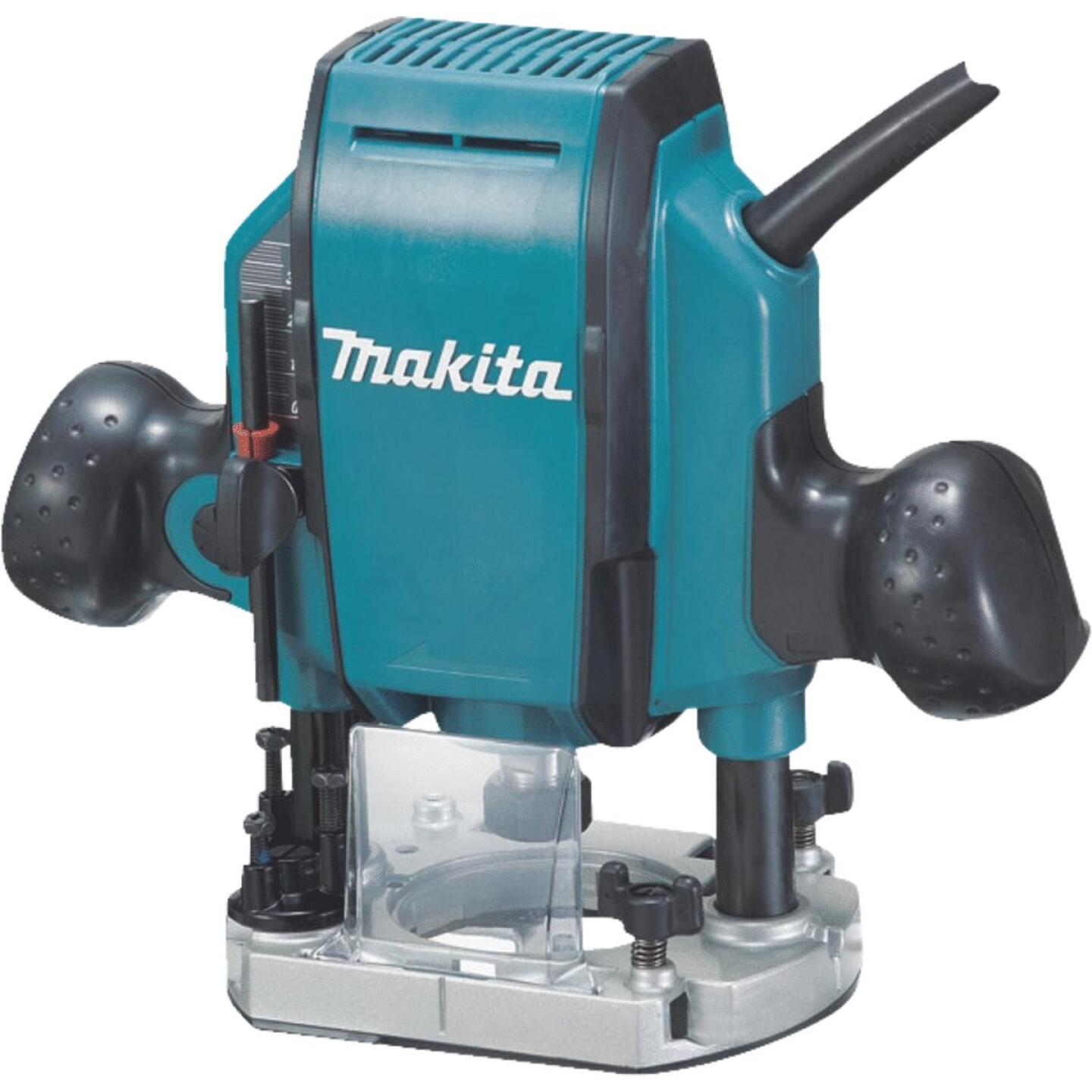 Makita 1-1/4 HP/8A 27,000 rpm Plunge Router Image 1