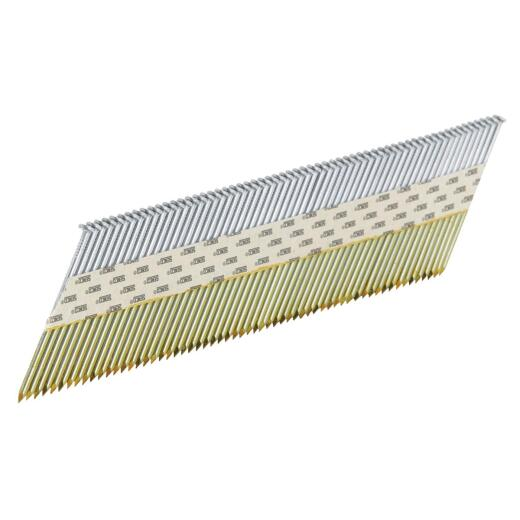 Senco ProHead 34 Degree Paper Tape Bright Offset Round Head Framing Stick Nail, 3 In. x .131 In. (2500 Ct.)
