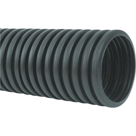 Advanced Basement 4 In. X 10 Ft. Polyethylene Corrugated Solid Pipe