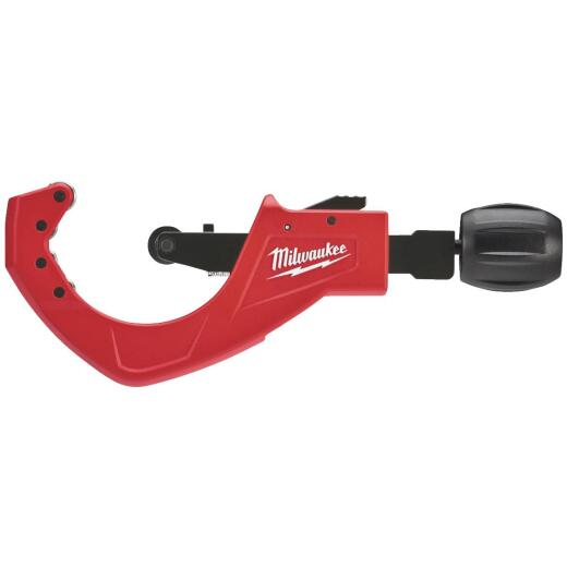 Milwaukee 2-1/2 In. Quick Adjust Copper Tubing Cutter, 1/2 In. to 2-5/8 In. Pipe Capacity