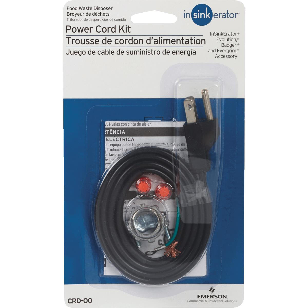 In Sink Erator Power Cord