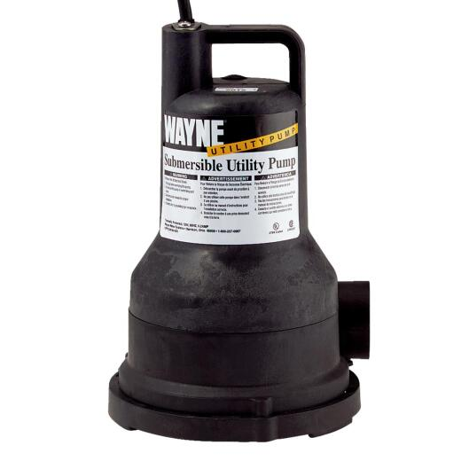 Wayne 1/5 H.P. Submersible Utility Pump