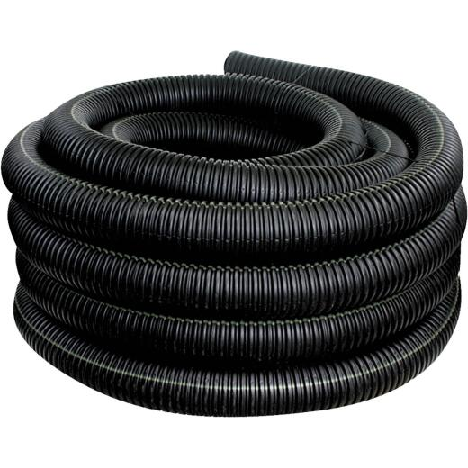 Advanced Basement 3 In. X 100 Ft. Polyethylene Corrugated Solid Pipe