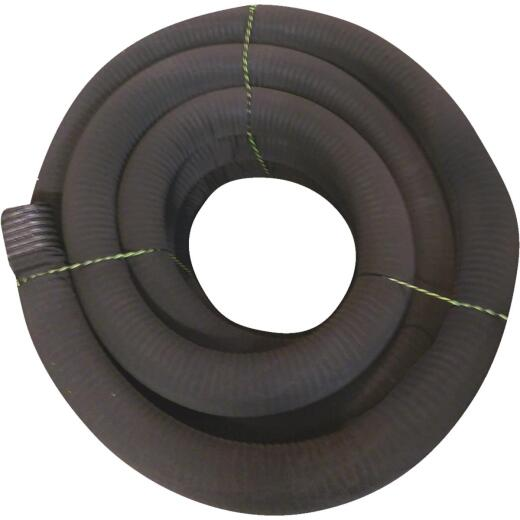 Advanced Basement 4 In. X 100 Ft. Corrugated Drainage Pipe with Sock