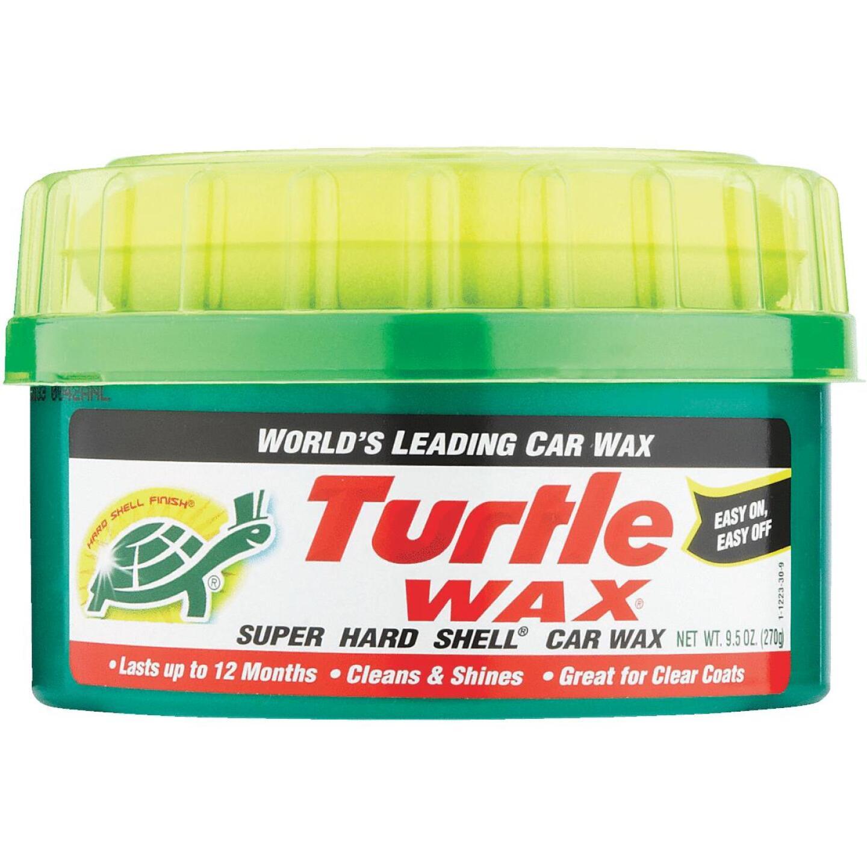 Turtle Wax Super Hard Shell Paste 9.5 oz Car Wax Image 2