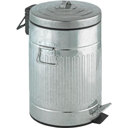 Wenko 12 Liter Steel Trash Can with Lid