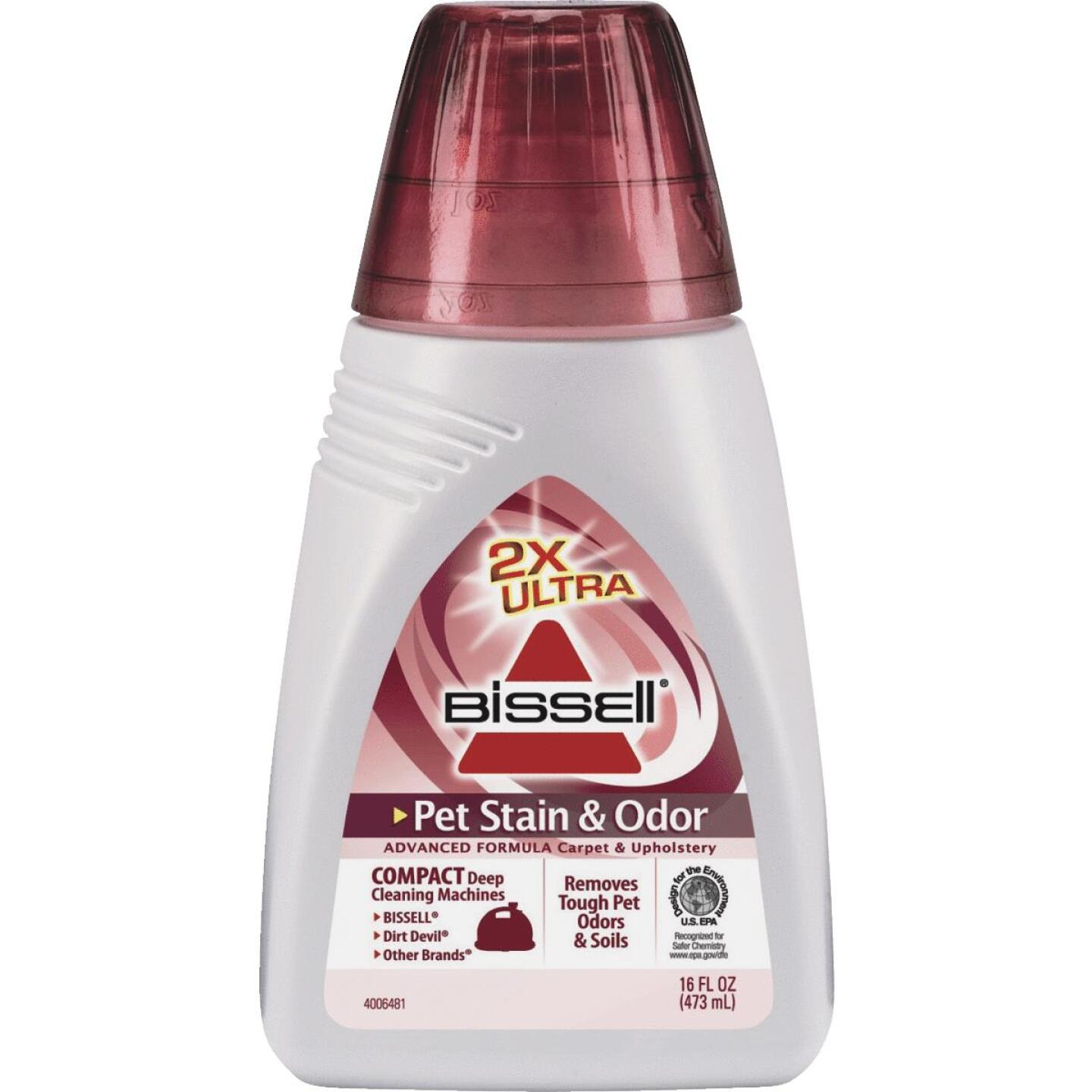 Bissell 16 Oz. Pet Odor And Stain Formula For Carpet And Upholstery Image 1