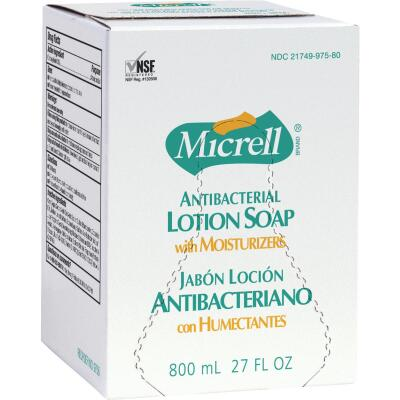 Micrell 27 Fl. Oz. Antibacterial Liquid Lotion Hand Soap with Moisturizers