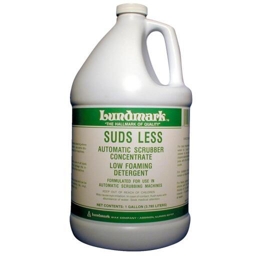 Lundmark 1 Gal. Suds Less Cleaner for Use in Automatic Scrubbing Machine