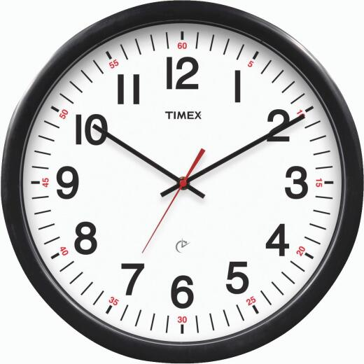 "Timex 14-1/2"" Set & Forget Timex Office Wall Clock"