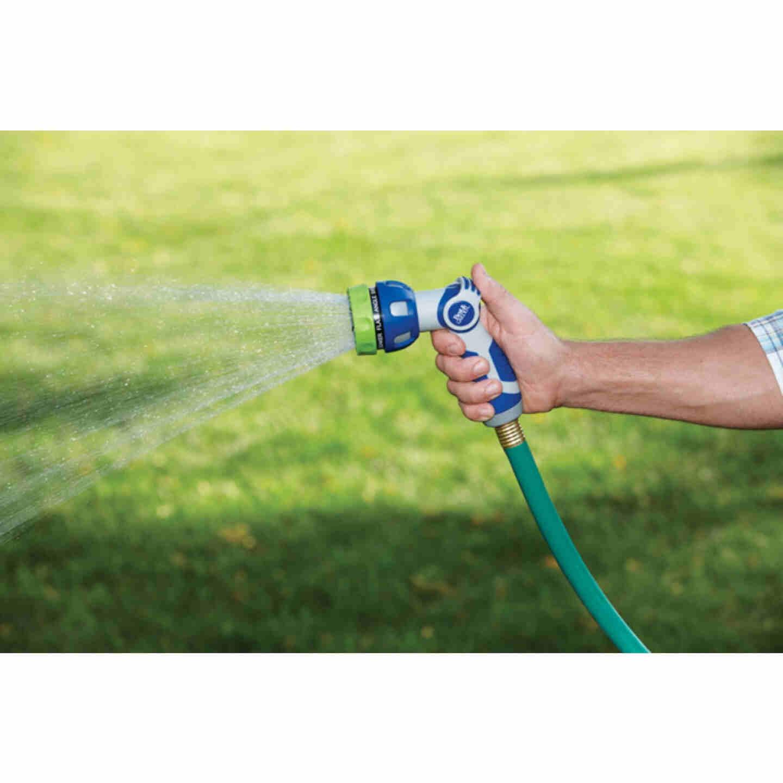 Best Garden Metal 9-Pattern Nozzle, Blue & Gray Image 2