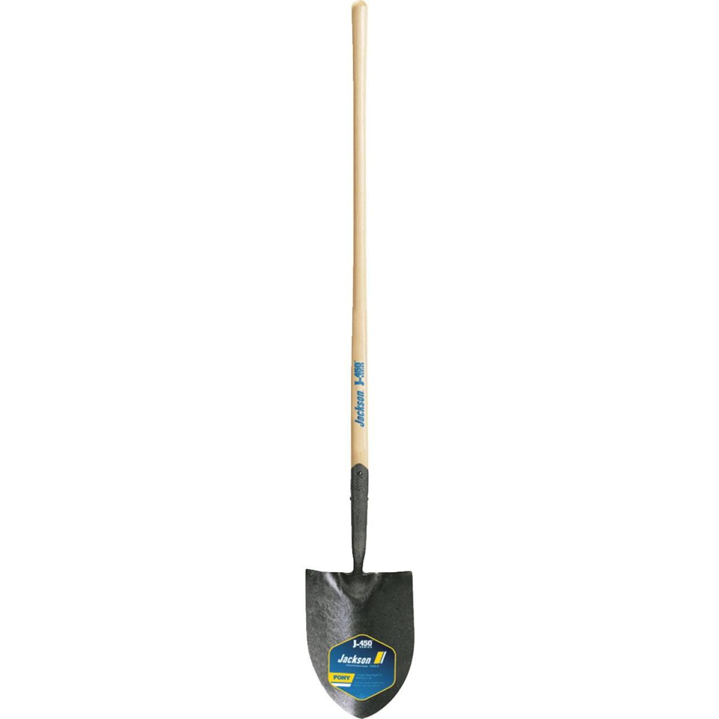 Jackson Pony J-450 Series 47 In. Wood Handle Round Point Contractor Shovel Image 2