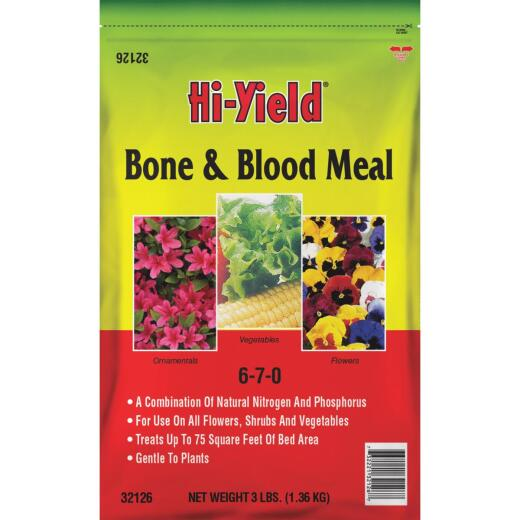 Hi-Yield 3 Lb. 6-7-0 Bone & Blood Meal
