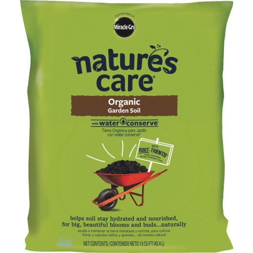 Miracle-Gro Nature's Care 1.5 Cu. Ft. All Purpose Organic Garden Soil