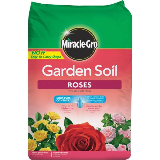 Miracle-Gro 1.5 Cu. Ft. In-Ground Rose Garden Soil
