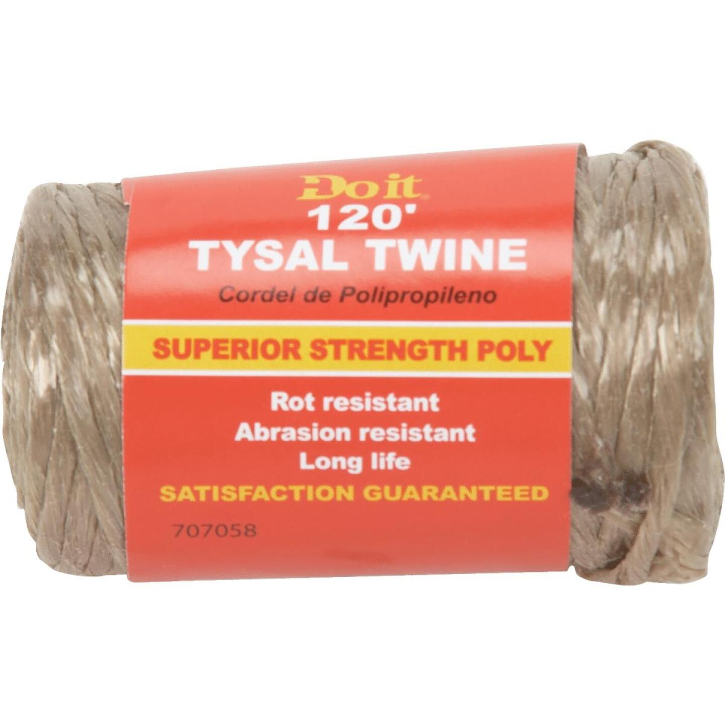Do it 5/64 In. x 120 Ft. Brown Polypropylene Tysal Twine Image 1