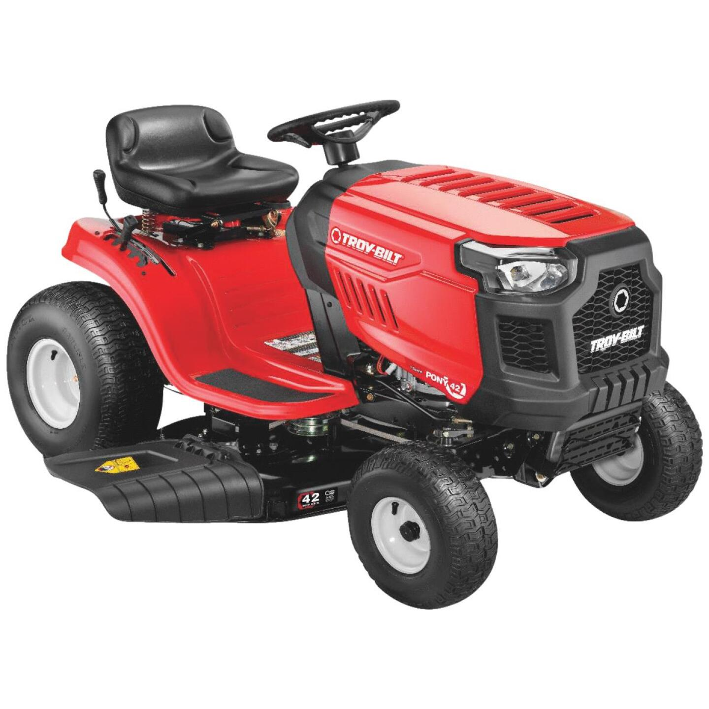 Troy-Bilt Pony 42 In. 500cc Single Cylinder Riding Lawn Tractor (California Compliant) Image 1