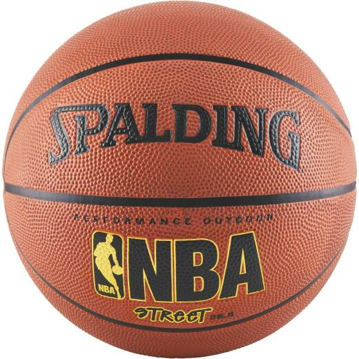 Spalding Outdoor NBA Street Basketball, Unofficial Size