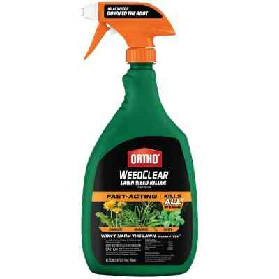 Ortho WeedClear 24 Oz. Ready To Use Trigger Spray Northern Lawn Weed Killer