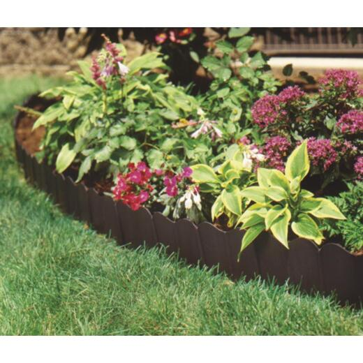 Suncast Eco Edge 6 In. H. x 20 Ft. L. Black Vinyl Lawn Edging