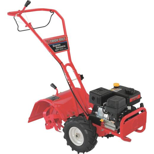 Troy-Bilt Super Bronco 16 In. 208cc Rear Tine Counter-Rotating Garden Tiller