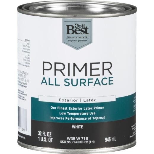 Do it Best White Exterior Primer, 1 Qt.