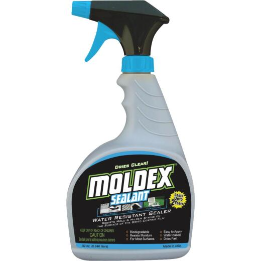 Moldex 32 Oz. Trigger Spray 125 Sq. Ft. Coverage Algae & Mold Protectant