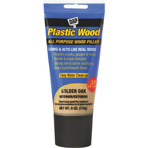 Dap Plastic Wood 6 Oz. Golden Oak All Purpose Wood Filler