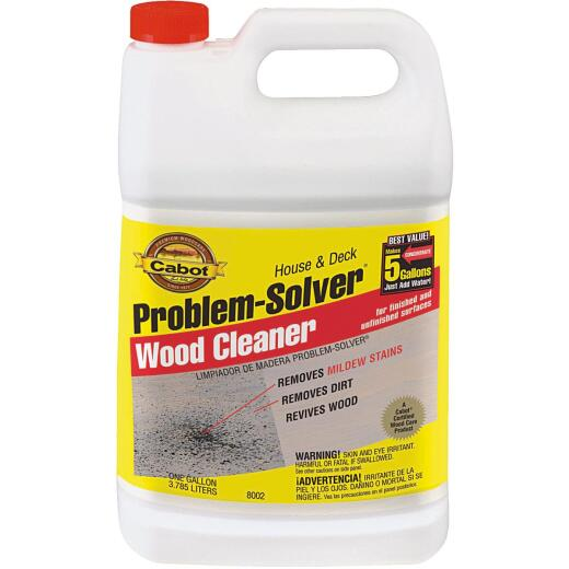 Cabot Problem-Solver 1 Gal. House & Deck Wood Cleaner