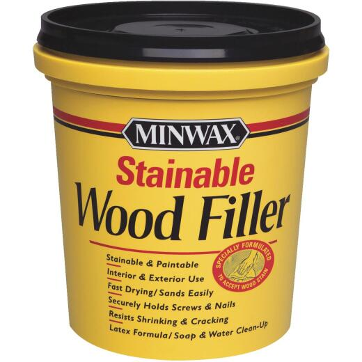 Minwax Natural 16 Oz. Wood Filler